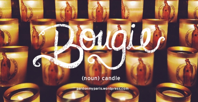 the daily french: bougie